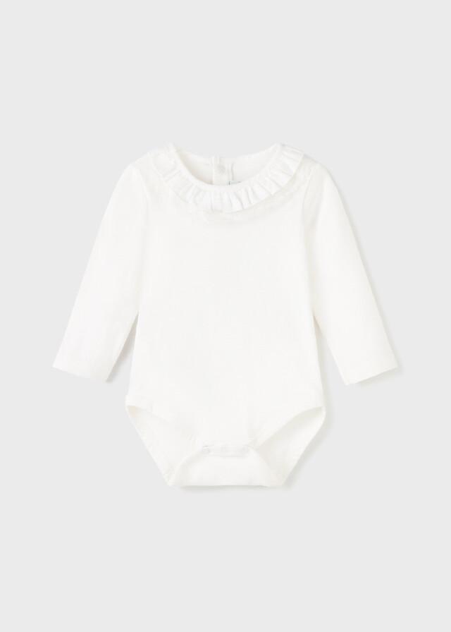 White LS Onesie 125