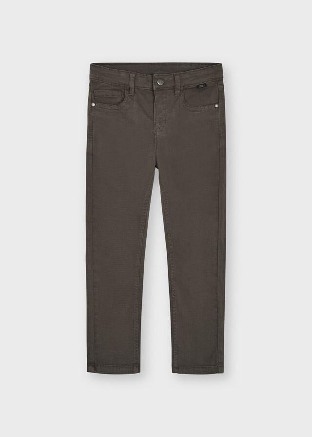 Gray Classic Twill Pants 561