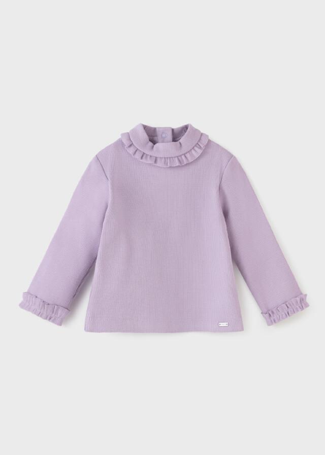 Lilac Ribbed Shirt 2081