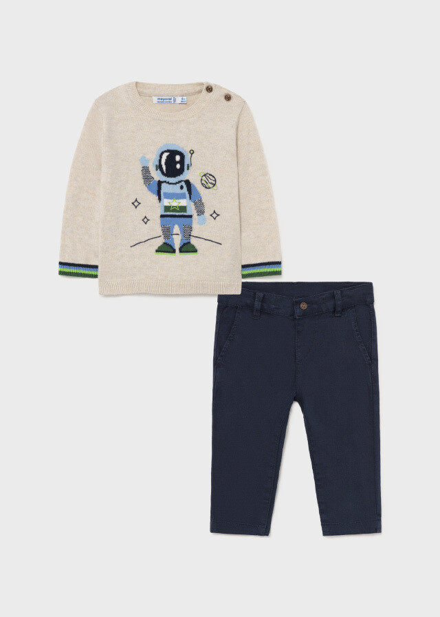 Astronaut Sweater Set 2538
