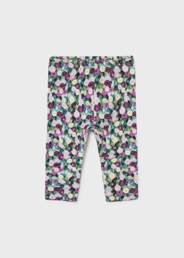Floral Print Leggings 2707