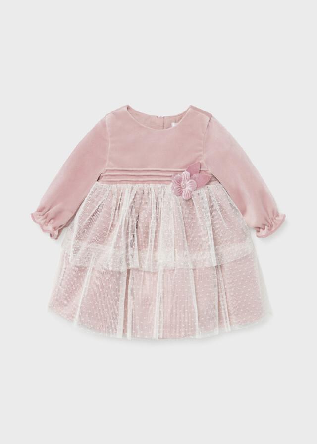 Velvet & Lace Dress 2818