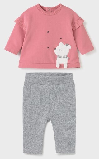 Pink Puppy Leggings Set 2704