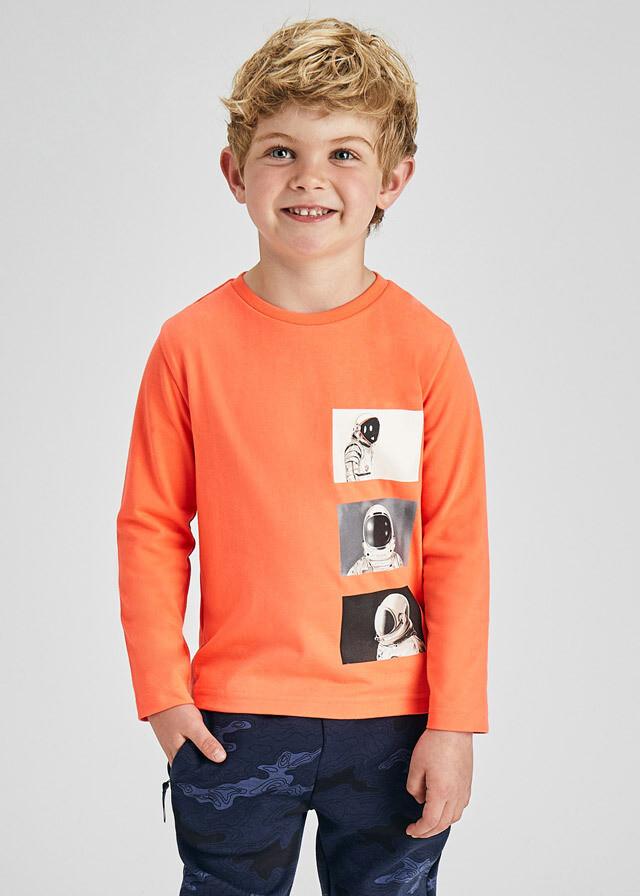 Astronaut Long Sleeve Shirt 4086