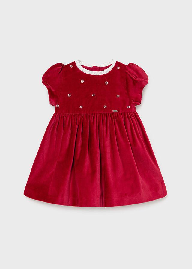 Red Velvet Dress 2912