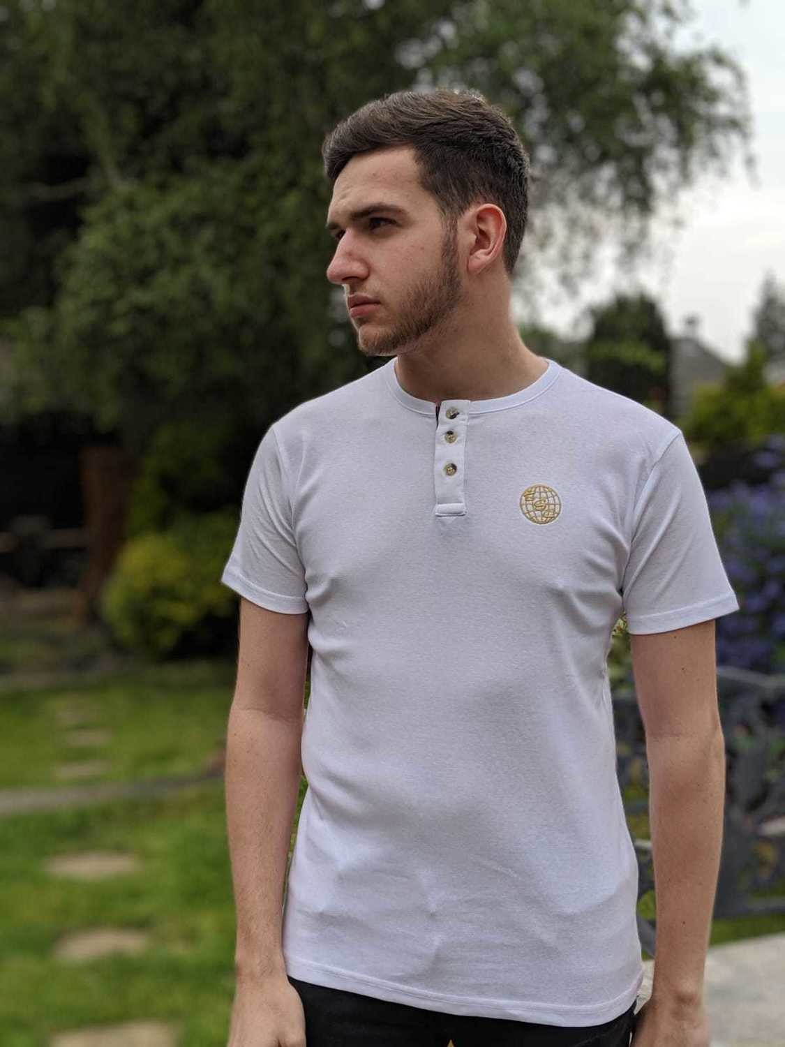 TSC Henley - White - Medium
