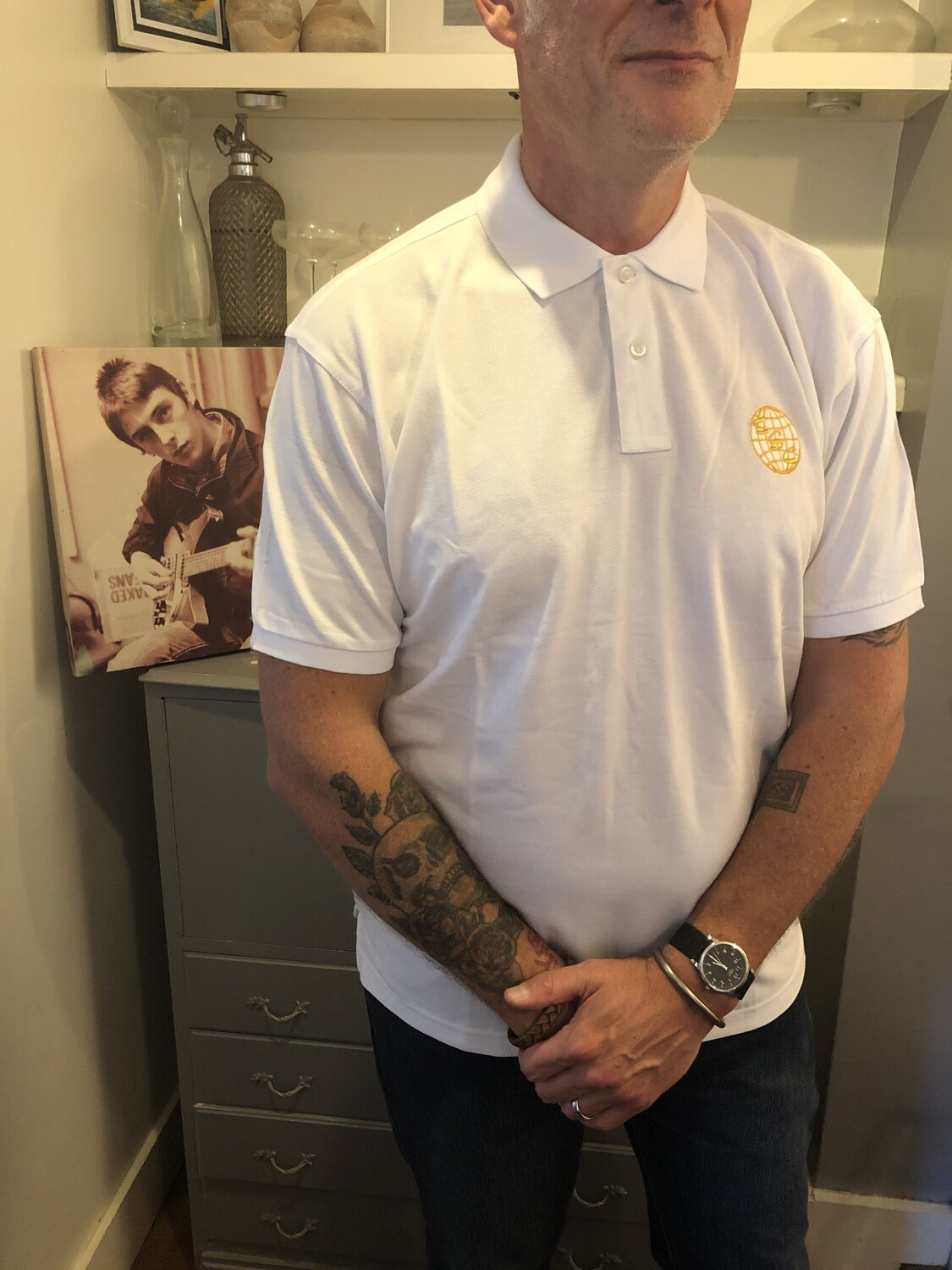 TSC Polo - White - Large