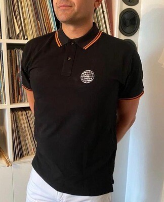 TSC Polo - Black - Large