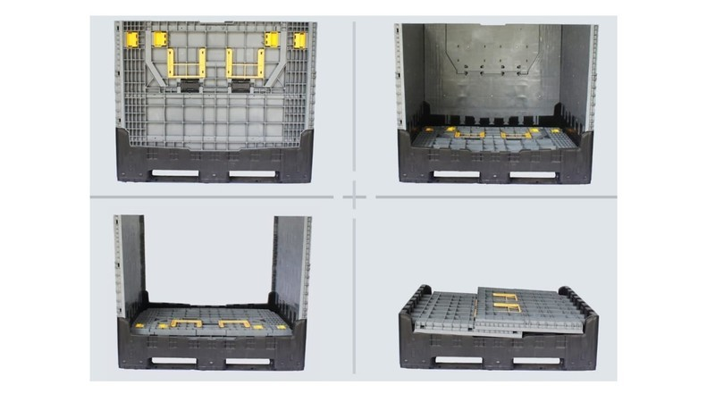 Foldable Larger Container