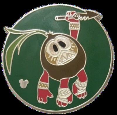 Kakamora Hidden Mickey Completer Pin