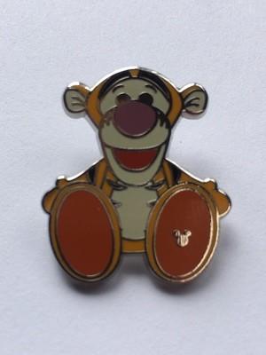Tigger Big Feet Hidden Mickey Pin