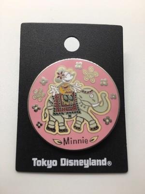 Minnie Mouse on Elephant- Tokyo Disney Pin