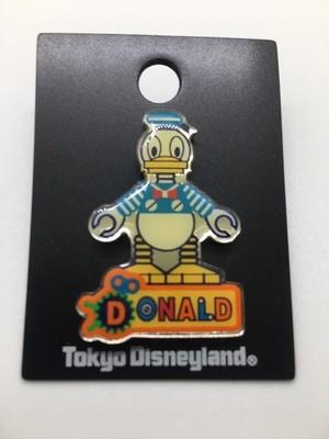 Donald Robot- Tokyo Disney Pin