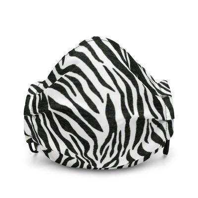 Premium Zebra Print Face Mask