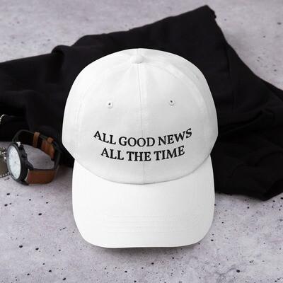 Slogan Cap - White
