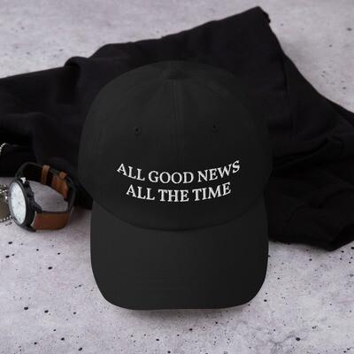 Slogan Cap - Black