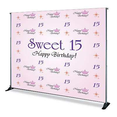8'x10' Step & Repeat Banner