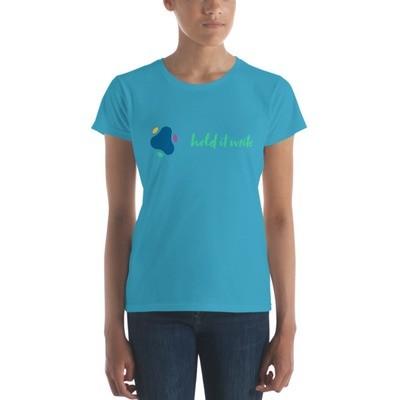 Women's Hold It Write Custom T-Shirt