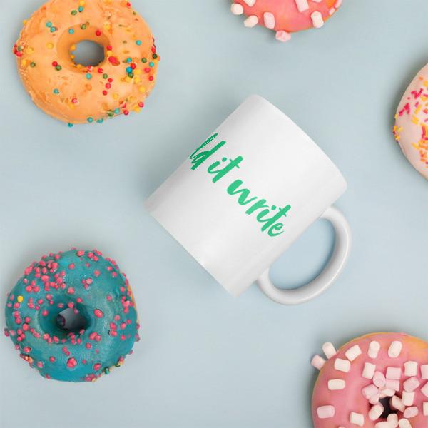 Hold It Write Custom Mug