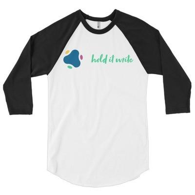 Unisex Hold It Write Custom T-Shirt