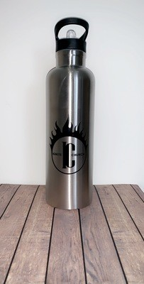 Silver Ignite Water Bottle