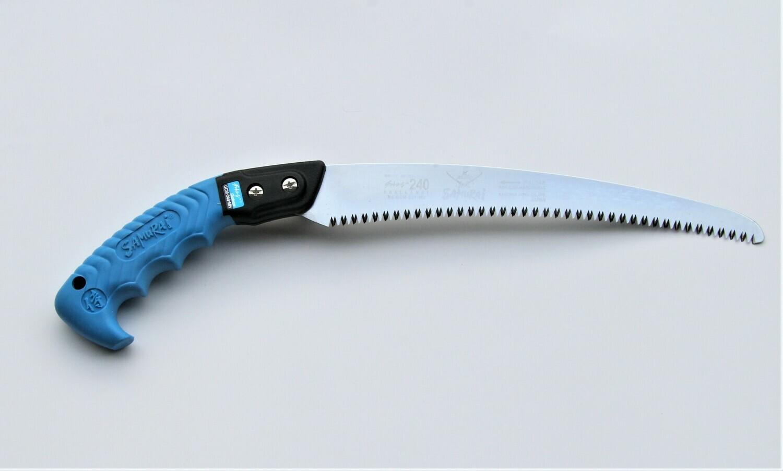 GCM 240mm. ilgio CHALLENGE. Lenktas pjūklas apsauginiame dėkle , dantų žingsnis 3mm.