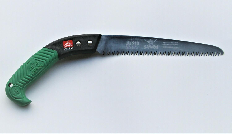 JS 210mm. ilgio. Tiesus pjūklas apsauginiame dėkle, dantų žingsnis 4mm.