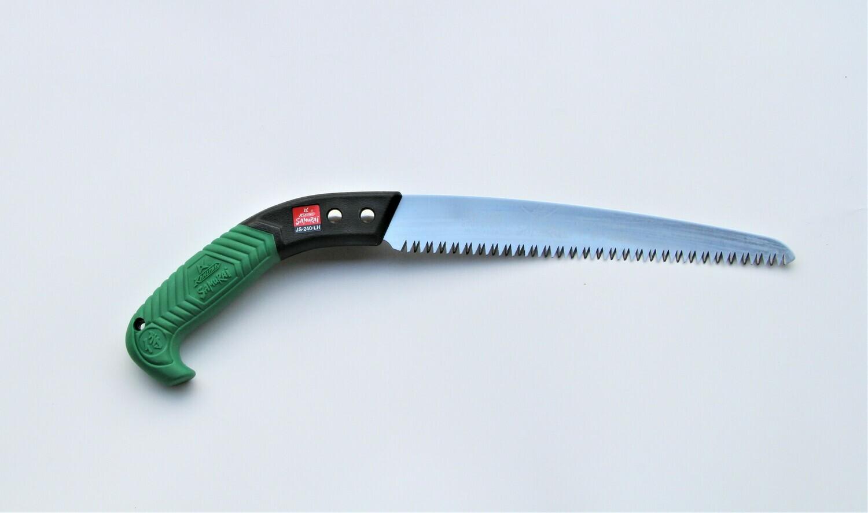 JS 240mm. ilgio. Tiesus pjūklas apsauginiame dėkle, dantų žingsnis 4mm.