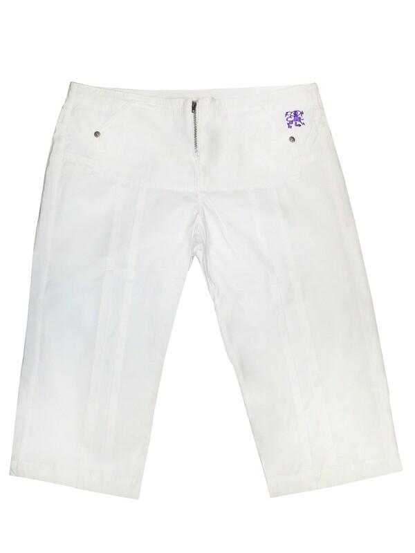 White Indie summer pants