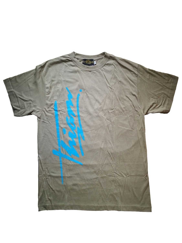T-shirt graffiti beige