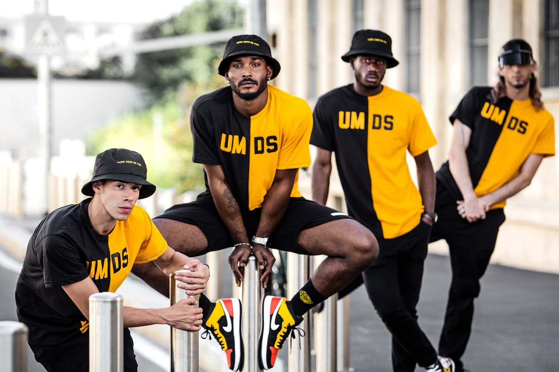 unisex double t-shirt UMDS