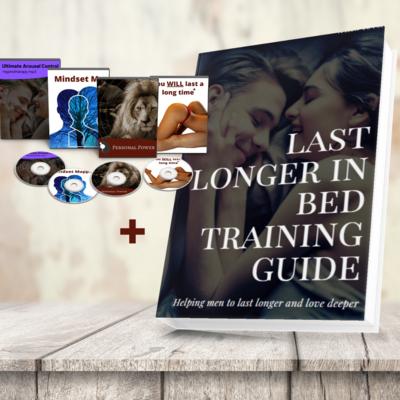 Last Longer in Bed Training Guide + peak performance mindset MP3's