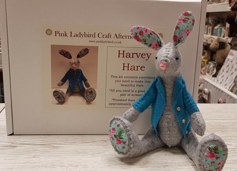Craft Afternoon Kit - Harvey Hare