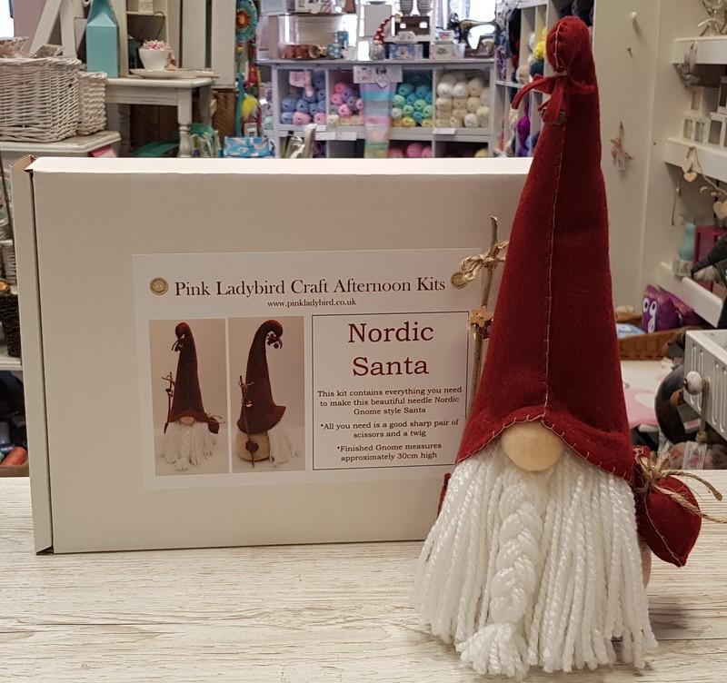 Craft Afternoon Kit - Nordic Santa