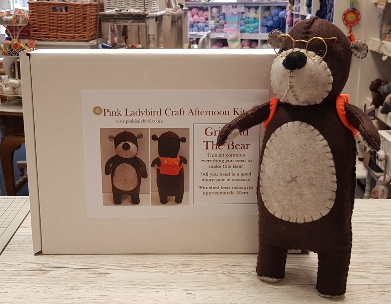 Craft Afternoon Kit - Griswold the Bear