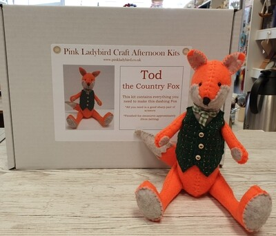Craft Afternoon Kit - Tod the Country Fox