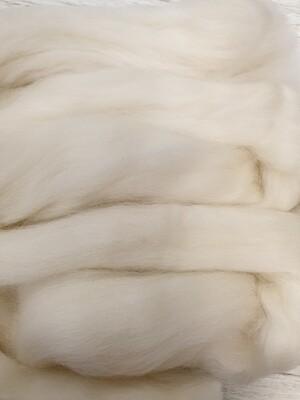 100% Merino Felting Wool 25g - Antique White