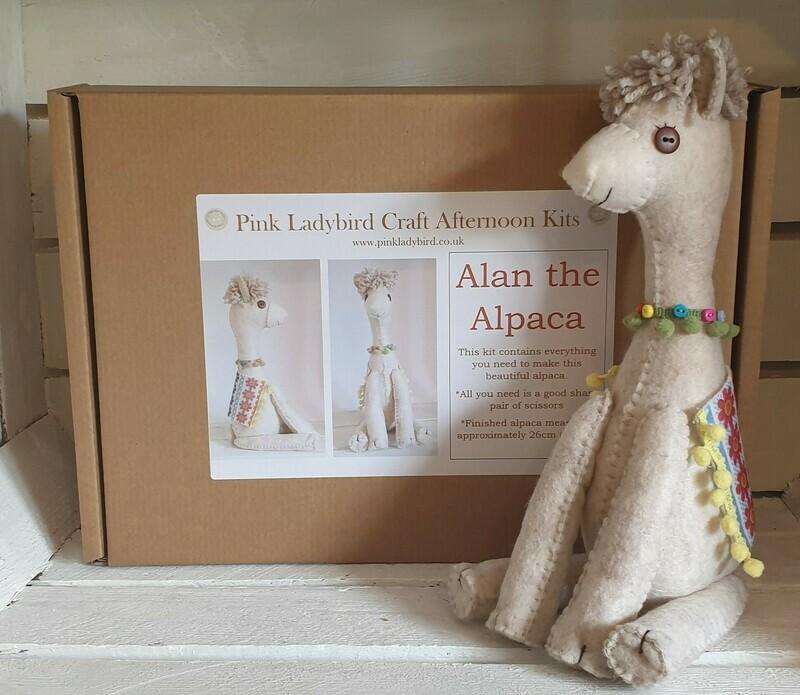 Craft Afternoon Kit - Alan the Alpaca