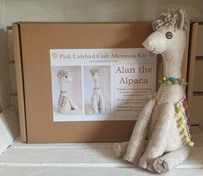 Craft Afternoon Kit - Alan the Alpaca