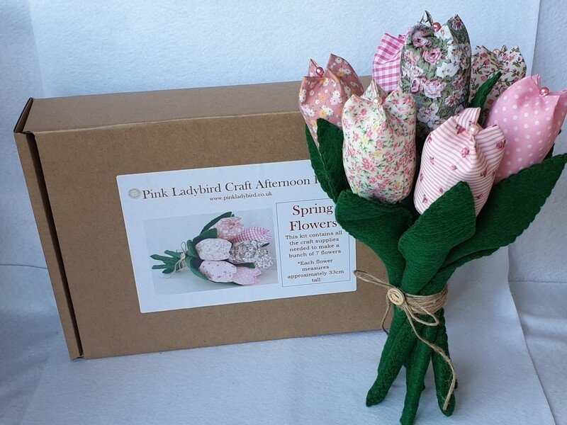 Craft Afternoon Kit - Spring Flowers