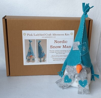 Craft Afternoon Kit - Nordic Snowman