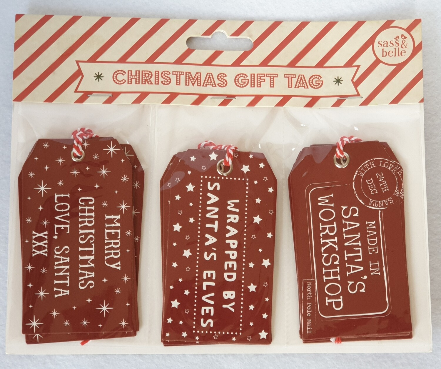 Christmas gift tags - Santa's Workshop