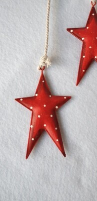 Metal stars - Hanging decoration