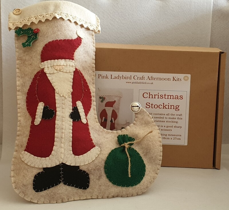 Craft Afternoon Kit - Christmas Stocking
