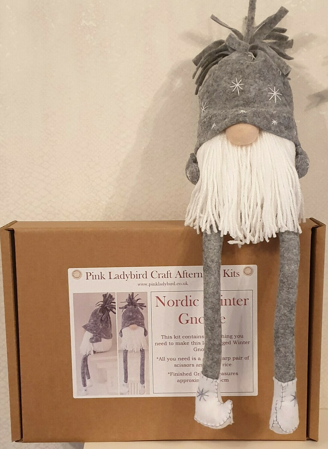 Craft Afternoon Kit - Nordic Winter Gnome