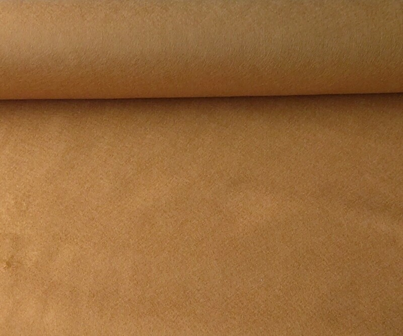 Acrylic felt 45 cm wide. 1/2 metre. AMBER. BS EN 71 part 2 & 3 tested.