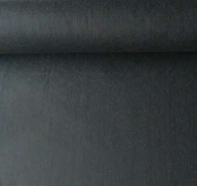 Acrylic felt 45cm wide. 1/2 metre. BLACK. BS EN 71 part 2 & 3 tested.
