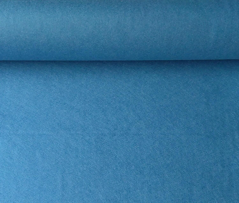 Acrylic felt 45cm wide. 1/2 metre. CORNFLOWER. BS EN 71 part 2 & 3 tested.
