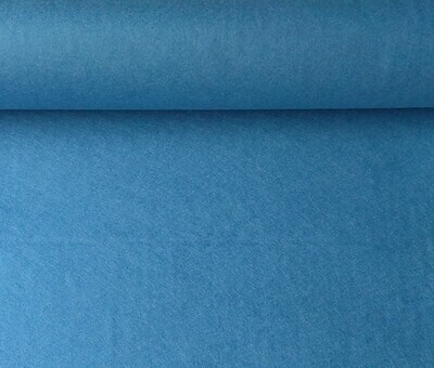 Acrylic felt 45cm wide. 1/2 metre. CORNFLOWER. BS EN 71 part 2 & 3 tested.
