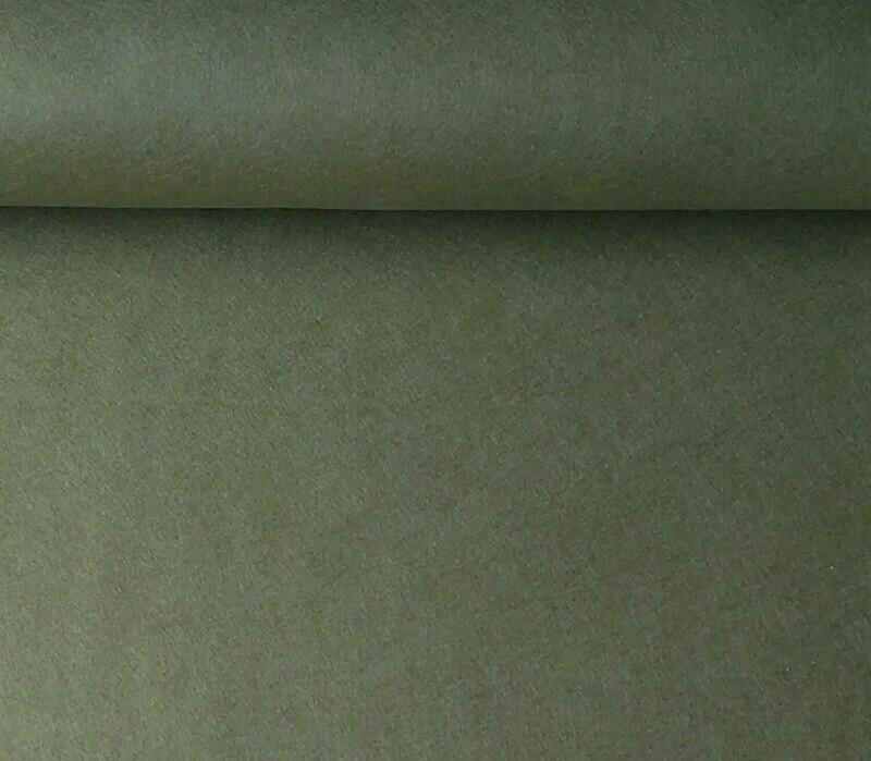 Acrylic felt 45cm wide. 1/2 metre. MOSS. BS EN 71 part 2 & 3 tested.